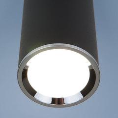 Накладной потолочный светильник DLN101 GU10 BK черный Elektrostandard