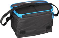 Сумка-холодильник (термосумка) Igloo Collapse&Cool 6, 4L (черная/синяя) 162720