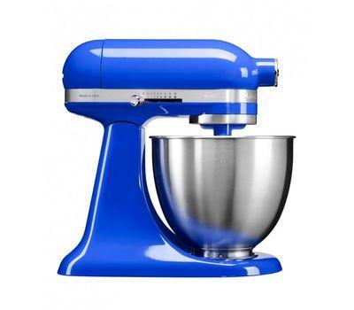 Миксер планетарный бытовой 3,3л KitchenAid MINI (3 насадки, 1 чаша) (Синие сумерки) 5KSM3311XETB