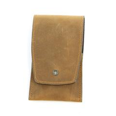 Маникюрный набор Dovo, 4 предмета, цвет коричневый, кожаный футляр 4033066