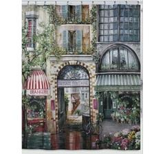 Шторка для ванной Creative Bath Rue di Rivoli S1205MULT