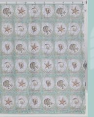 Шторка для ванной Creative Bath Sea Treasures S1232MULT