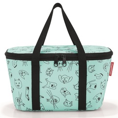 Термосумка детская Coolerbag XS cats and dogs mint Reisenthel UF4062