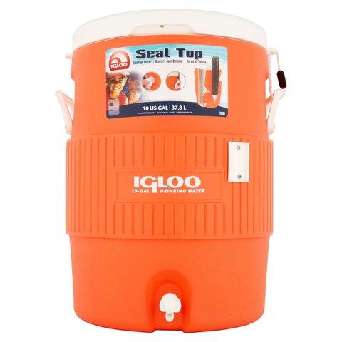 Изотермический контейнер (термобокс) Igloo 10 Gal Orange, 37,5L