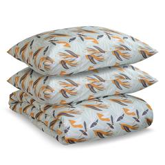 Комплект постельного белья двуспальный из сатина с принтом Birds of Nile из коллекции Wild Tkano TK20-DC0021