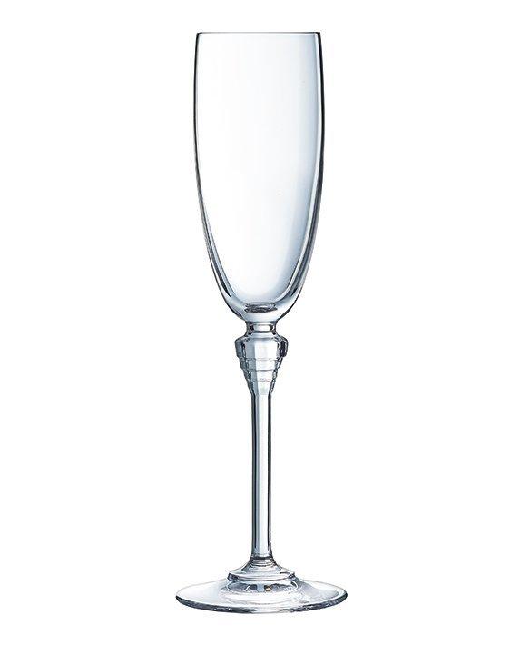 Набор из 6 бокалов для шампанского 190мл Cristal d'Arques Amarante L8084