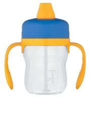 Поильник с ручками Thermos Foogo Phases №1 BP500, пластмассовый голубой (0.23 литра) 110114
