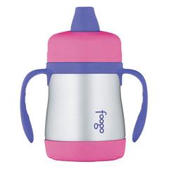 Поильник с ручками Thermos Foogo Phases №1 BS500 розовый (0.2 литра) 102430