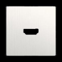 Накладка для розетки HDMI (перламутровый рифленый) WL13-HDMI-CP Werkel