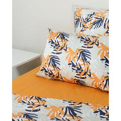 Комплект постельного белья двуспальный из сатина с принтом Leaves из коллекции Wild Tkano TK20-DC0022
