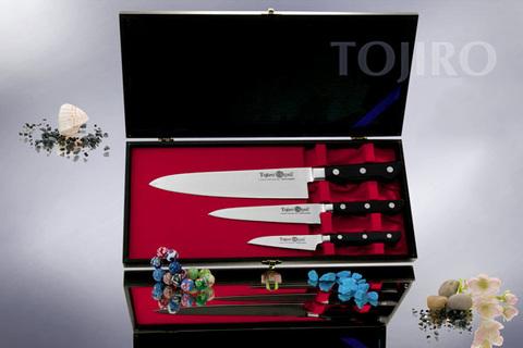 Набор из 3 кухонных ножей Tojiro Western Knife (DP-GIFTSET-A)