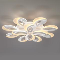 Светодиодный потолочный светильник с пультом управления Eurosvet Flake 90140/12 белый