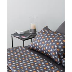 Комплект постельного белья двуспальный из сатина с принтом Triangles из коллекции Wild Tkano TK20-DC0020
