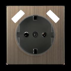 Накладка для USB розетки (бронзовый) WL12-USB-CP Werkel