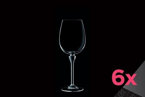 Набор из 6 бокалов для вина 350мл Cristal d'Arques Amarante L7446