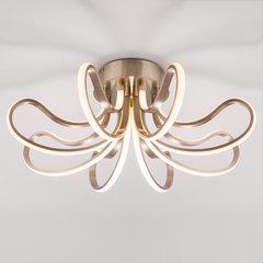 Потолочный светодиодный светильник Eurosvet Lilium 90079/8 сатин-никель
