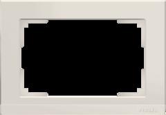 Рамка для двойной розетки (слоновая кость) WL04-Frame-01-DBL-ivory Werkel