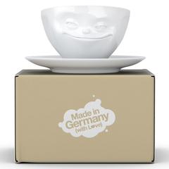 Чайная пара Tassen Grinning 200 мл белая T01.41.01