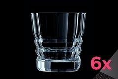 Набор из 6 низких стаканов 380мл Cristal d'Arques Architecte L8148