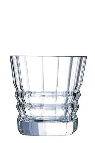 Набор из 6 низких стаканов 320мл Cristal d'Arques Architecte L6695