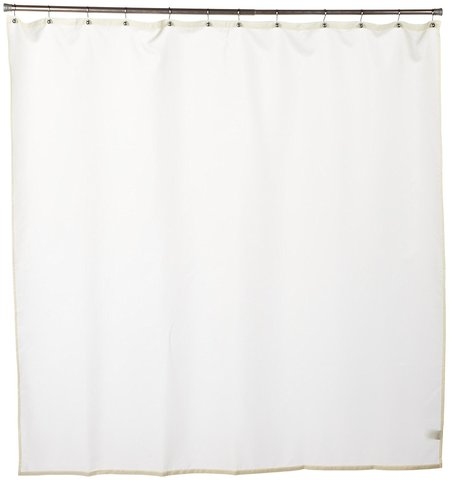 Шторка защитная Carnation Home Fashions Nylon Liner Ivory SC-NYL/08