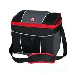 Сумка-холодильник (термосумка) Igloo HLC 12 с пластиковым коробом, 9L (черная/красная) 159202