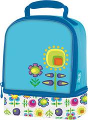 Термосумка детская (сумка-холодильник) Thermos Floral Dual голубая 889423