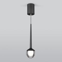 Подвесной светодиодный светильник DLS028 6W 4200K черный Elektrostandard