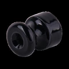 Изолятор без винта 50 шт. (черный) Ретро WL18-17-02 Werkel