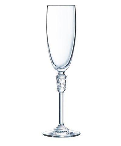 Набор из 6 бокалов для шампанского 190мл Cristal d'Arques Bracelet L8147