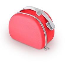 Сумка-холодильник (термосумка) для косметики с жесткими вставками EVA Mold Kit Red, 6L 469663