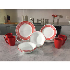 Тарелка закусочная 22 см Corelle Brushed Red 1118421