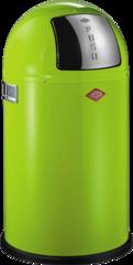 Ведро для мусора с заслонкой 22л Wesco Pushboy 175531-20