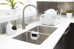 Диспенсер для мыла с подставкой для губки Joey белый Umbra 330750-660*