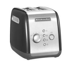Тостер на 2 хлебца KitchenAid (Черный) 5KMT221EOB