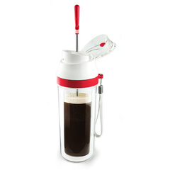 Френч-пресс Asobu Modern press (0,48 литра) красная FP3 red