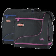Термосумка детская (сумка-холодильник) Foogo Large Diaper Sporty Bag (черная/голубая) 003140-b