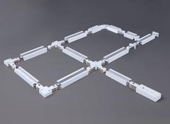 Коннектор прямой для однофазного шинопровода белый TRC-1-1-I-WH Elektrostandard