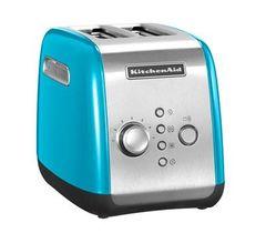 Тостер на 2 хлебца KitchenAid (Голубой кристалл) 5KMT221ECL