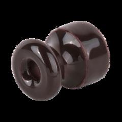 Изолятор без винта 100 шт. (коричневый) Ретро WL18-17-02 Werkel
