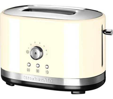 Тостер на 2 хлебца (7 степеней) KitchenAid (Кремовый) 5KMT2116EAC