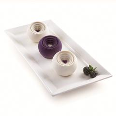 Форма для приготовления пирожных Coccola 18 х 34 см силиконовая Silikomart 26.305.13.0065