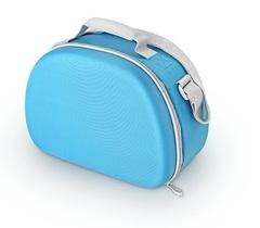Сумка-холодильник (термосумка) для косметики с жесткими вставками EVA Mold Kit Blue, 6L 469717