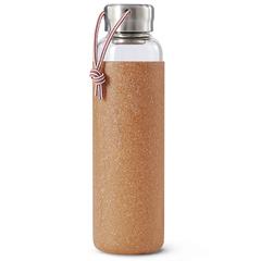 Бутылка для воды стеклянная 600 мл светло-коричневая Black+Blum GR-WB-M014