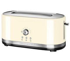 Тостер на 2 хлебца, удл.слоты, (7 степеней) KitchenAid (Кремовый) 5KMT4116EAC