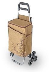 Сумка-холодильник (термосумка) на колесиках коричневая, 28L 469922