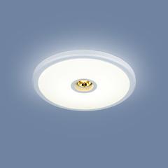 Встраиваемый точечный светодиодный светильник 9912 LED 6+4W WH белый Elektrostandard