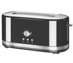 Тостер на 2 хлебца, удл.слоты, (7 степеней) KitchenAid (Черный) 5KMT4116EOB