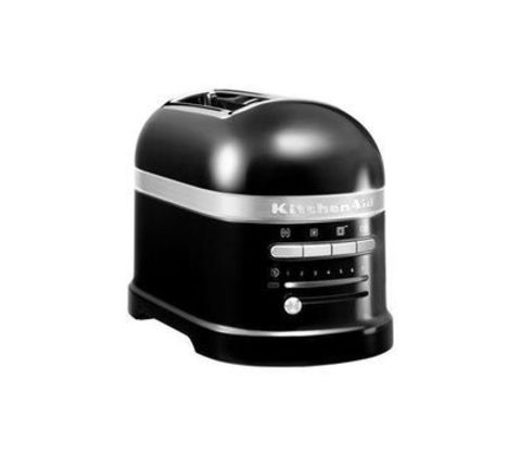 Тостер на 2 хлебца KitchenAid Artisan (Черный) 5KMT2204EOB