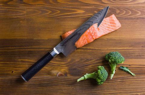 Нож кухонный Шеф 20см Samura Damascus SD-0085/Y*